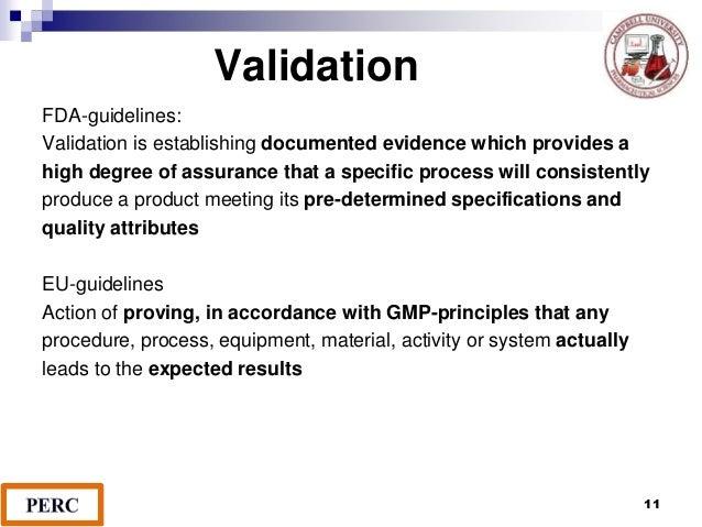 Cder guidance validating chromatographic methods pdf