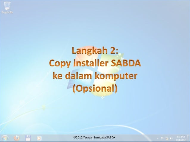 ©2012 Yayasan Lembaga SABDA