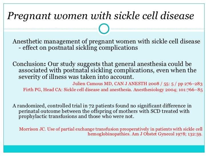 the discussion on sickle cell disease Accelerating drug development for sickle cell disease october 9, 2014 discussion guide background sickle cell disease (scd) is a complex genetic disorder that affects over 100,000 americans and millions of.
