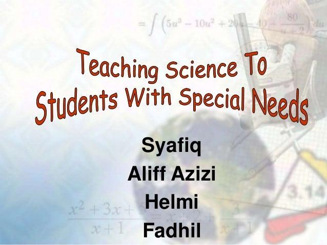 Syafiq Aliff Azizi Helmi Fadhil