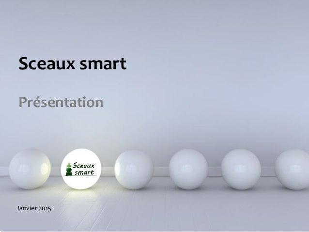 Powerpoint Templates Sceaux smart Présentation Janvier 2015