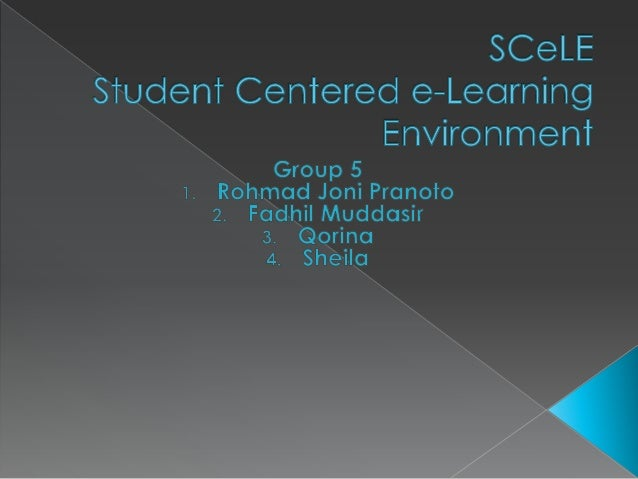    SCeLE (Student Centered e-Learning    Environment) is a Learning Management    System(LSM) that 's owned and used by  ...