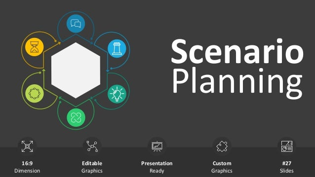 Scenario Planning Editable Graphics Presentation Ready Custom Graphics 16:9 Dimension #27 Slides