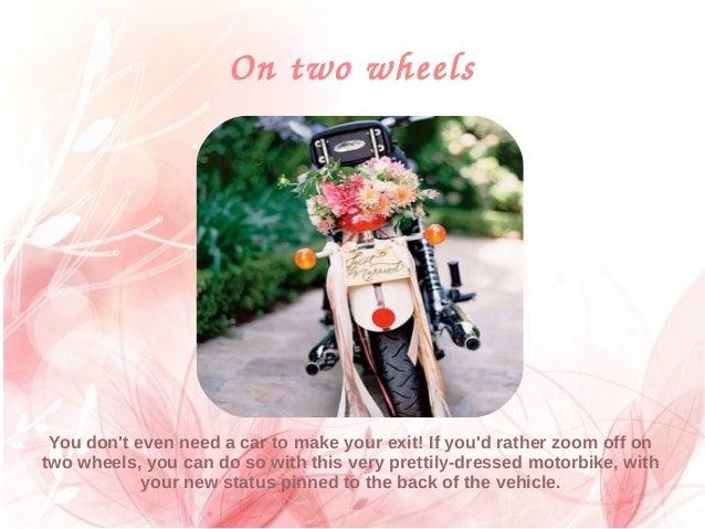 8 Creative Wedding Car Decorations