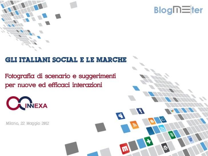 MISURIAMO IL PASSAPAROLA ONLINE GLI ITALIANI SOCIAL E LE MARCHEFotografia di scenario e suggerimentiper nuove ed e...