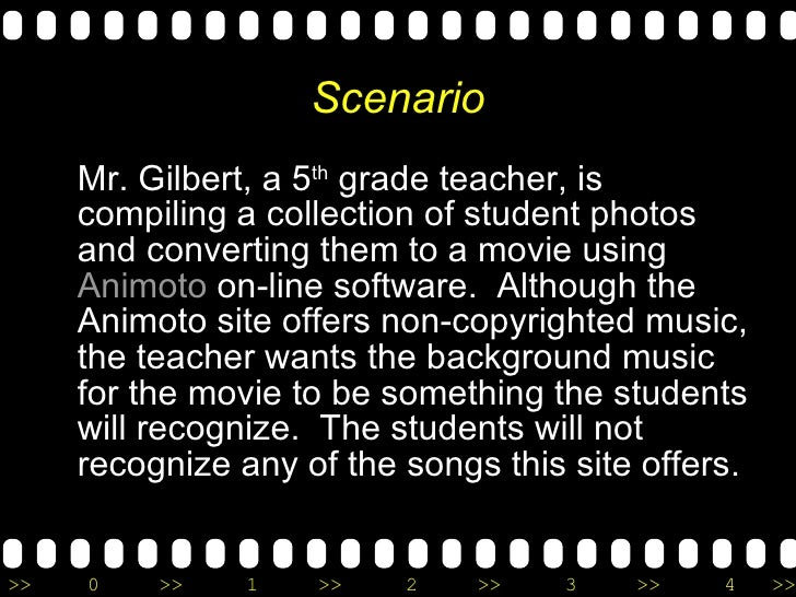 Scenario <ul><li>Mr. Gilbert, a 5 th  grade teacher, is compiling a collection of student photos and converting them to a ...