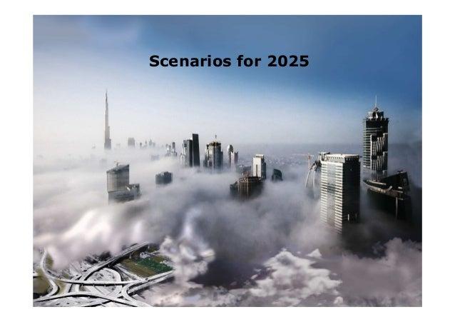 Scenarios for 2025