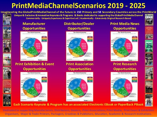 PrintMediaChannelScenarios 2019 - 2025 Imagineering the GlobalPrintMediaChannel of the Future in 150 Primary and 58 Second...