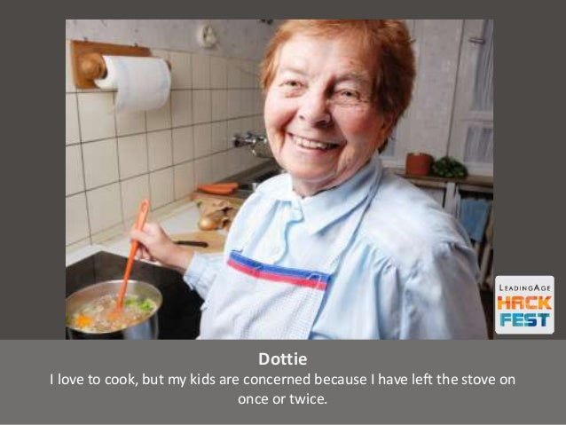 Dottie I love to cook, but my kids are concerned because I have left the stove on once or twice.