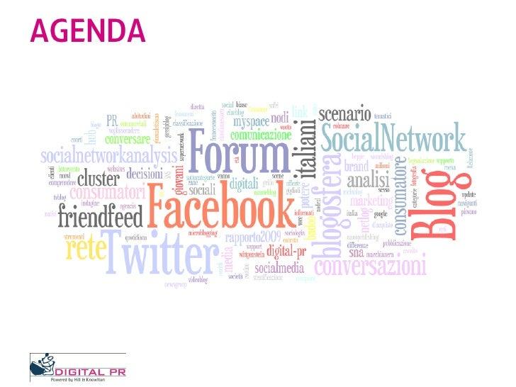 Scenario Social Media In Italia - Dove vanno gli italiani in rete Slide 2