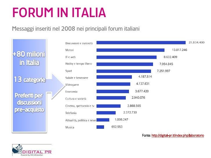 Scenario Social Media In Italia - Dove vanno gli italiani in rete Slide 3