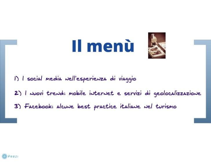 Scenari social +  numeri e tendenze travel 2012 (BTO 2011) Slide 3