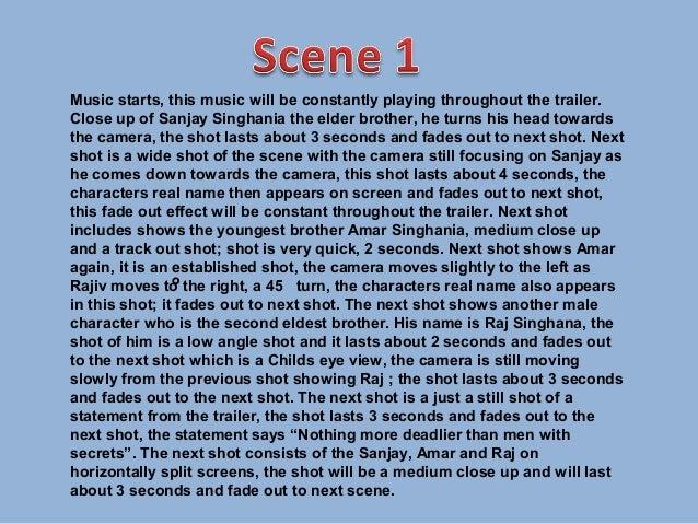 Scene by scene Slide 2