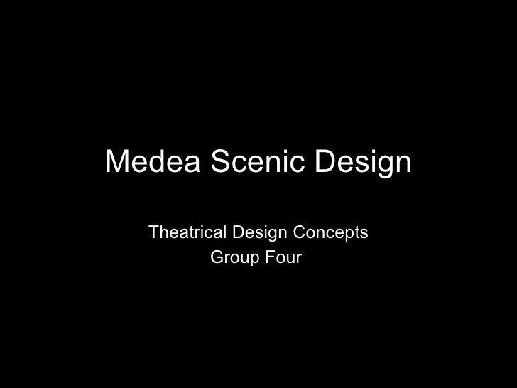 Medea Scenic Design Theatrical Design Concepts Group Four