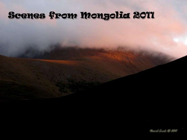 Scenes from Mongolia 2011<br />