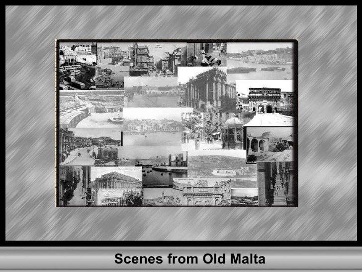 Scenes from Old Malta