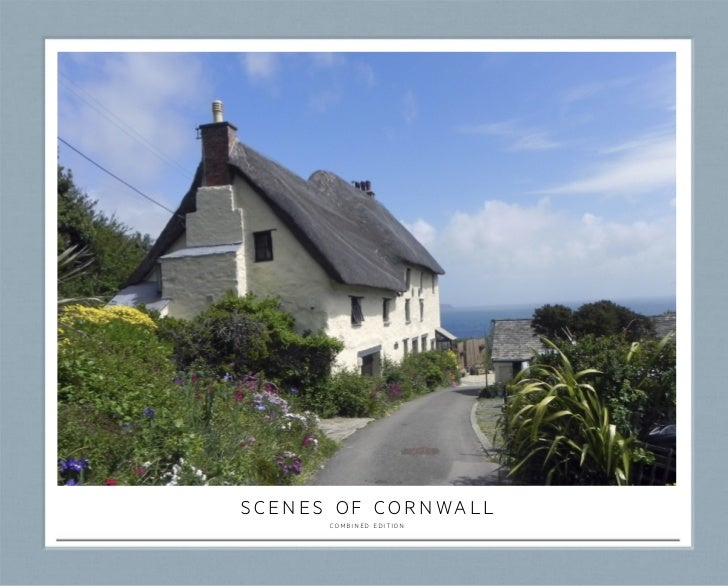 scenes of cornwall      combined edition