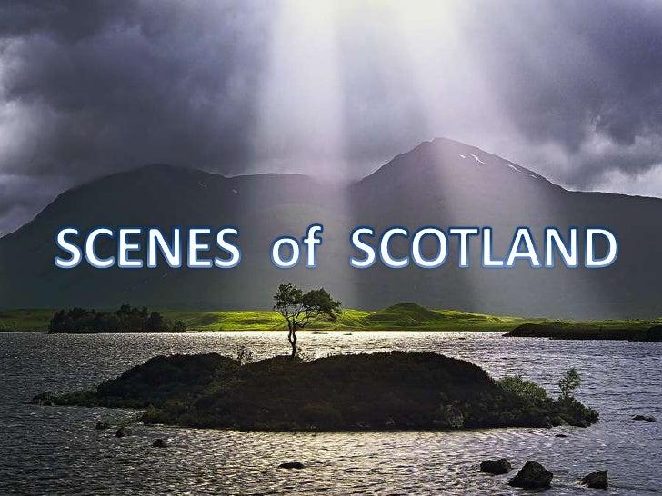 SCENES  of  SCOTLAND<br />