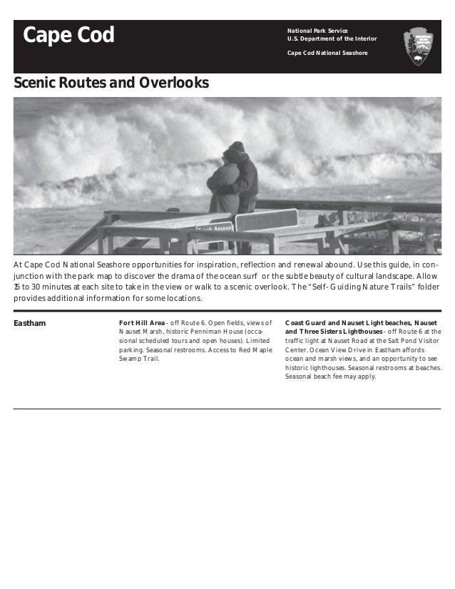 NostalgicOutdoors™- Scenic drives & overlooks , CAPE COD NATIONAL on