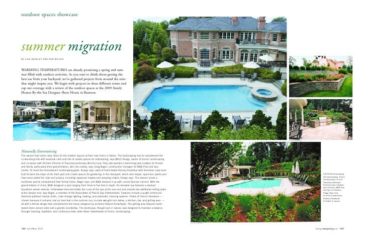 outdoor spaces showcase          summer migration          BY LISA RACKLEY AND REN MILLER          WARMING TEMPERATURES ar...