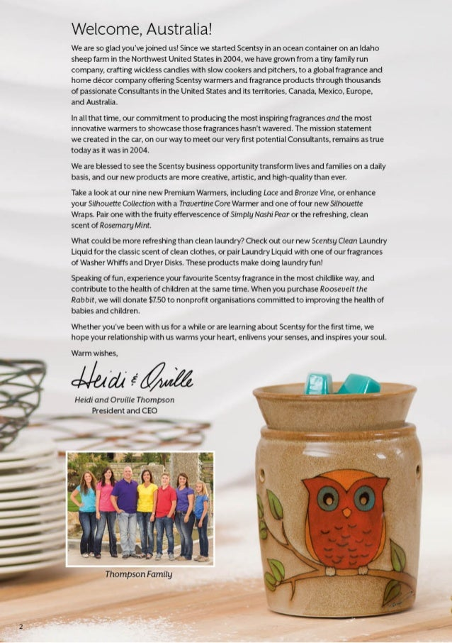 Scentsy Fragrance Autumn / Winter 2014 AUSTRALIA by WickFree Candles Slide 2