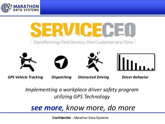 GPS Vehicle Tracking  Dispatching  Distracted Driving  Driver Behavior  Implementing a workplace driver safety program uti...