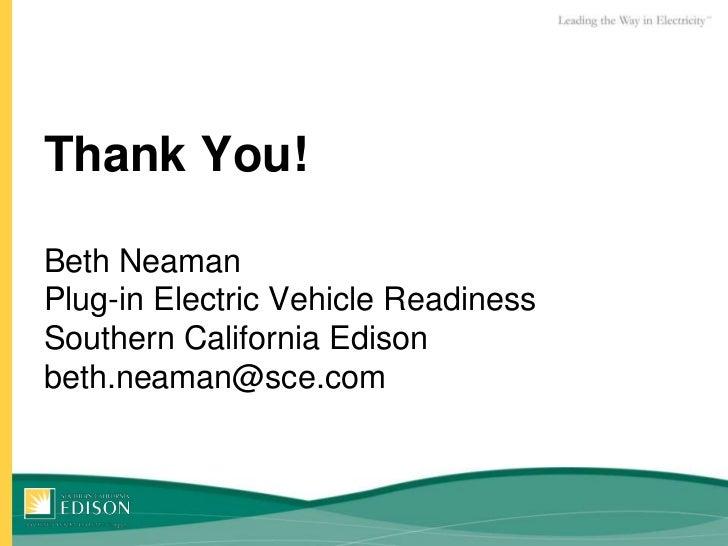 California Ev Rebate >> Southern California Edison