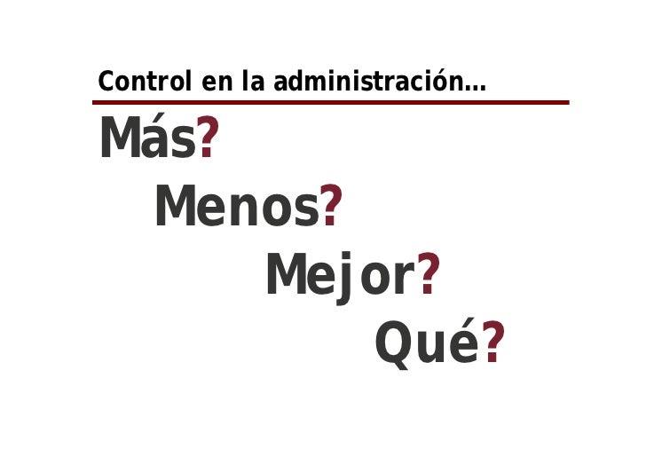 Introducción a un sistema de control de la gestión Slide 3