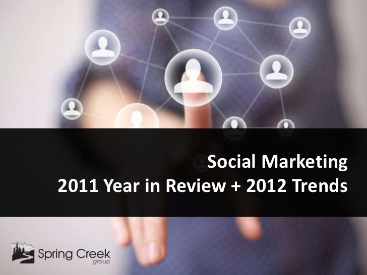 Social Marketing2011 Year in Review + 2012 Trends