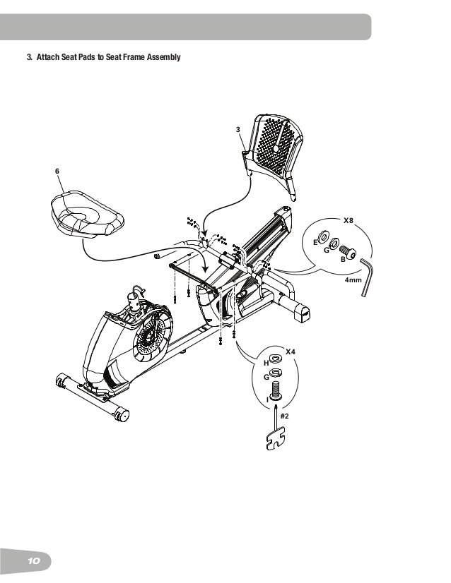 schwinn 270 recument exercise bike manual 10 10 3