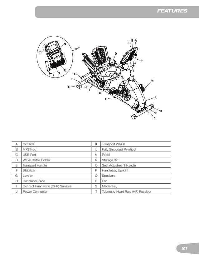 Schwinn 270 Recument Exercise bike Manual
