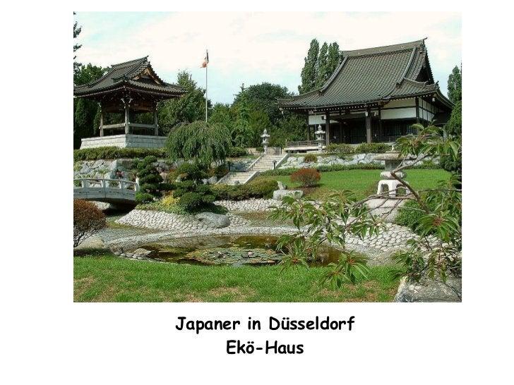 Japaner in Düsseldorf Ekö-Haus