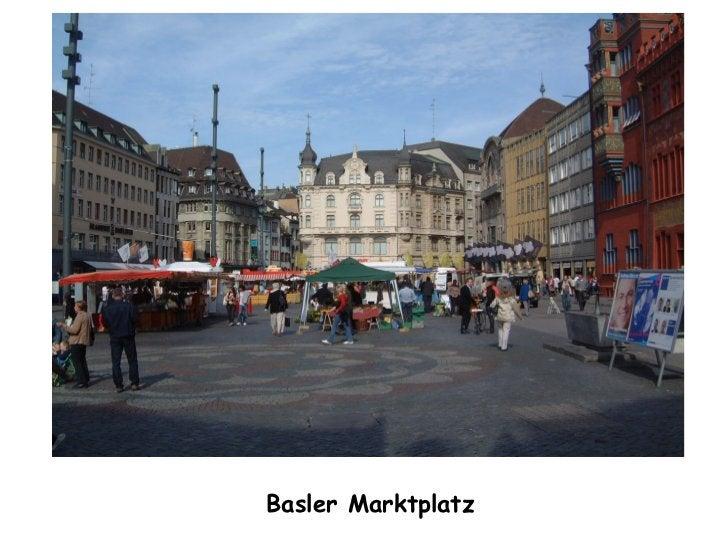 Basler Marktplatz