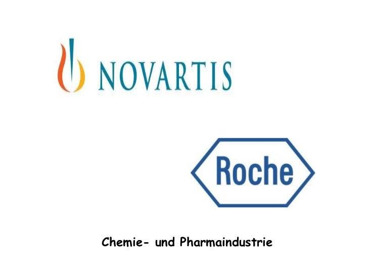 Chemie- und Pharmaindustrie