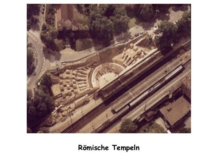 Römische Tempeln