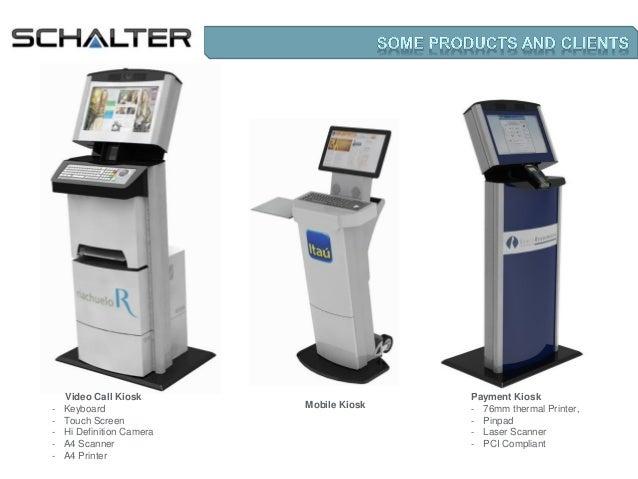 Schalter presentation - Kiosks