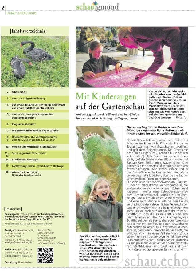 Jäger-familientag  Am Sonntag, 31. August, lädt die  Gartenschau zusammen mit dem  Landesjagdverband Baden-Württemberg  zu...