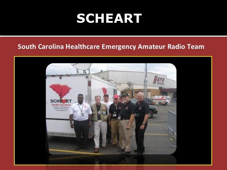 SCHEART South Carolina Healthcare Emergency Amateur Radio Team