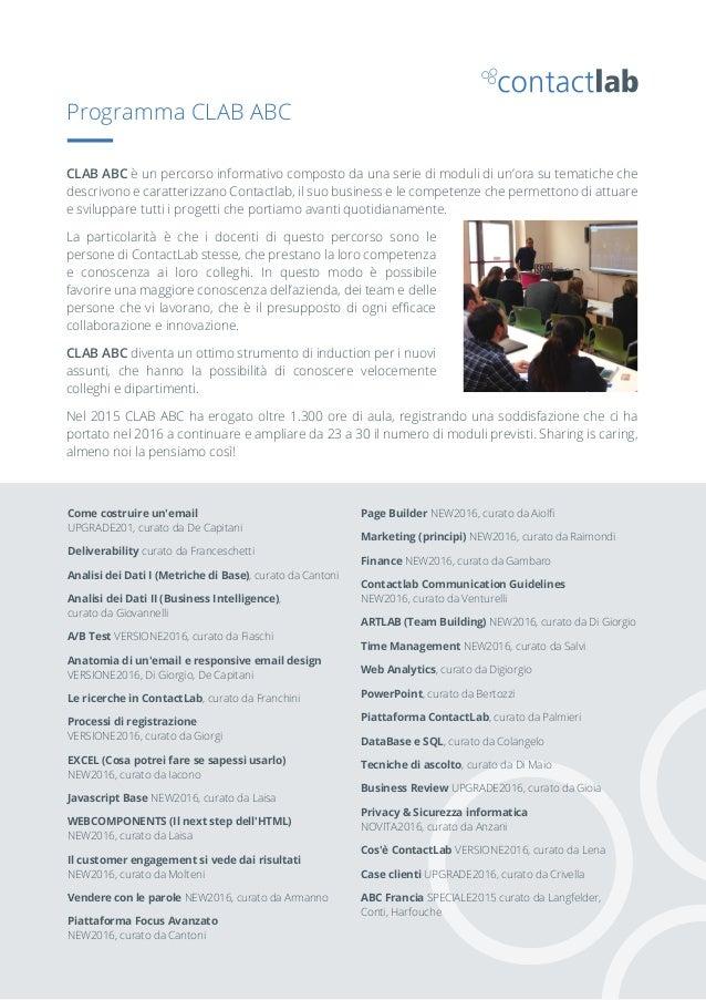Come costruire un'email UPGRADE201, curato da De Capitani Deliverability curato da Franceschetti Analisi dei Dati I (Metri...