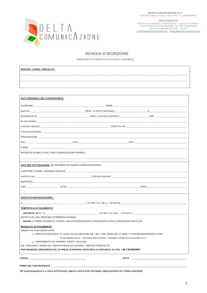 Scheda iscrizione corsi_master_delta_comunicazione