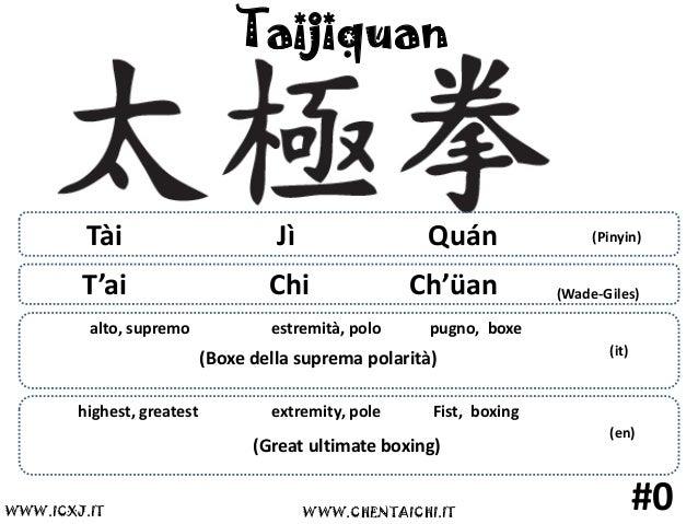 #0WWW.ICXJ.IT Tài Jì Quán (Pinyin) T'ai Chi Ch'üan (Wade-Giles) alto, supremo estremità, polo pugno, boxe (Boxe della supr...