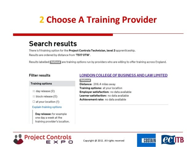 Project Controls Technician Apprentice - Joining the puzzle together …