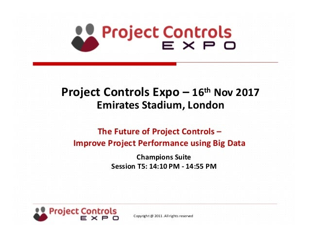 3b29331115 The Future of Project Controls  Improve project performance using Big Data  by