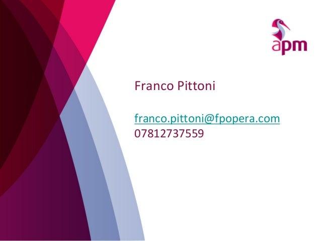 Franco Pittoni franco.pittoni@fpopera.com 07812737559