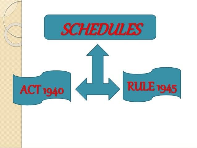 Schedules Slide 3