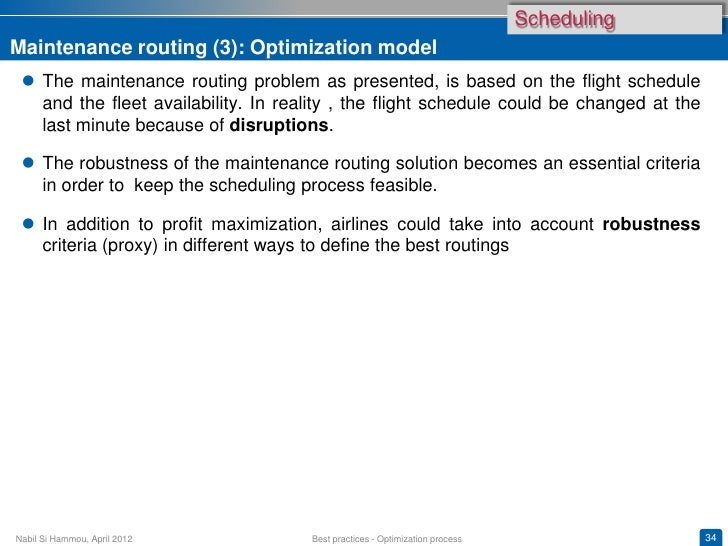Scheduling and Revenue Management