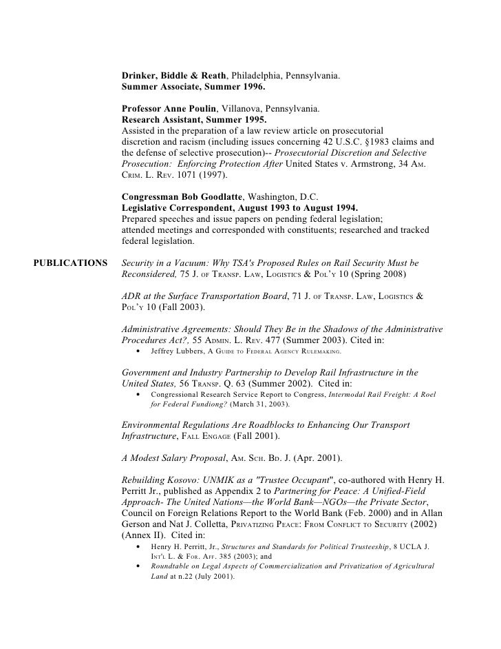 patent attorney trainee sample resume legal summer associate cover