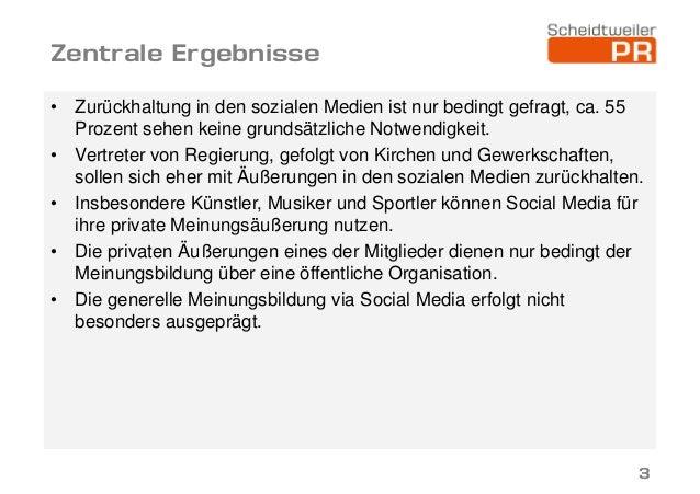 Wie wirkt sich die Nutzung sozialer Netzwerke auf öffentliche Ämter aus? Slide 3