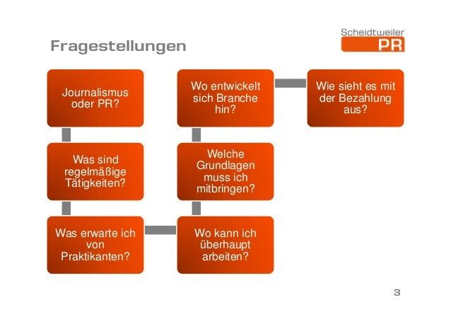 Vortrag an der Universität Bremen zum Berufsfeld PR Slide 3