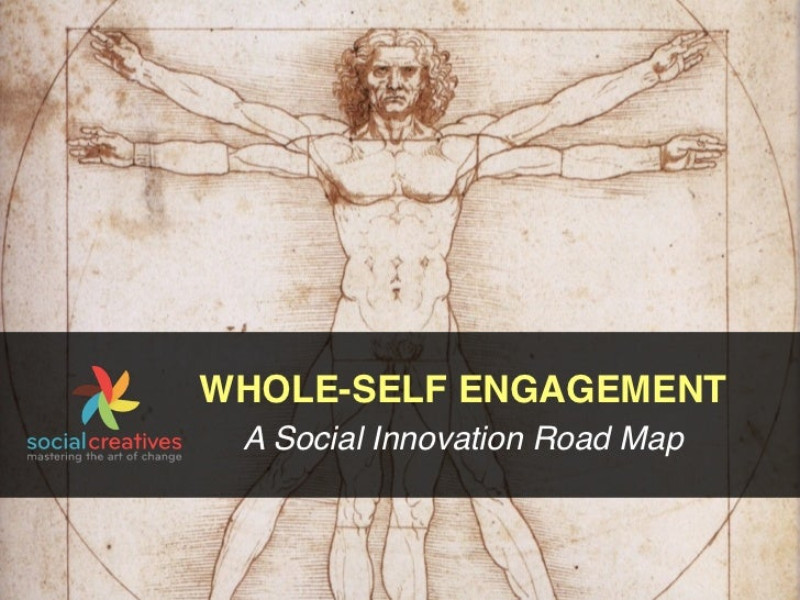 WHOLE-SELF ENGAGEMENT A Social Innovation Road Map